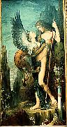 Gustave Moreau Oedipus and the Sphinx oil painting picture wholesale