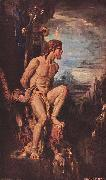Gustave Moreau Prometheus oil painting picture wholesale