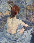 Henri de toulouse-lautrec La Toilette, early painting oil painting picture wholesale