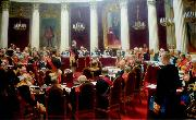 Ilya Repin Ceremonial session of the State Council 1900 oil painting picture wholesale