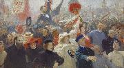 Ilya Repin 17 October 1905, oil painting picture wholesale
