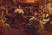 Ilya Repin Party oil painting picture wholesale