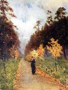 Isaac Levitan Autumn day. Sokolniki. oil painting picture wholesale