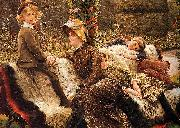 James Tissot The Garden Bench, oil painting picture wholesale