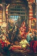 Jan Matejko Boleslaw Chrobry and Svetopelk at Kiev oil painting picture wholesale