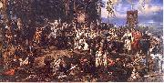 Jan Matejko The Battle of Raclawice, a major battle of the Kosciuszko Uprising oil painting picture wholesale
