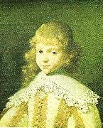 Louis Le Nain young prince, c oil painting