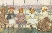 Maurice Prendergast Evening on a Pleasure Boat oil painting picture wholesale