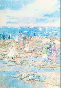 Maurice Prendergast Summer Visitors oil painting picture wholesale