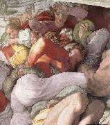 Michelangelo Buonarroti The Brazen Serpent oil painting reproduction