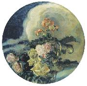 Mikhail Vrubel Yellow Roses, oil painting reproduction