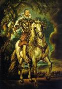 Peter Paul Rubens Equestrian Portrait of the Duke of Lerma, oil painting picture wholesale