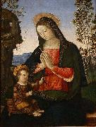 Pinturicchio Madonna Adoring the Child, oil painting picture wholesale