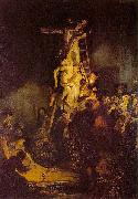 REMBRANDT Harmenszoon van Rijn Descent from the Cross. oil painting picture wholesale