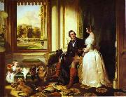 Sir edwin henry landseer,R.A. Windsor Castle in Modern Times oil painting artist