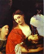 Titian Salome, or Judith oil painting picture wholesale