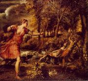 Titian The Death of Actaeon. oil painting picture wholesale