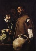 Velasquez Those who sell water oil painting artist