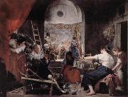Velasquez Female Textile oil painting picture wholesale