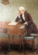 antonin dvorak a romantic artist s impression of mozart composing oil painting picture wholesale