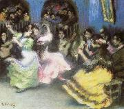 ralph vaughan willams spanish flamenco dancers oil painting picture wholesale