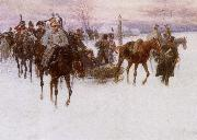 tchaikovsky napoleon s rout by the russian army inspired tchaikovsky oil painting picture wholesale