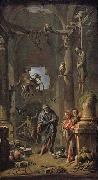 Andrea Locatelli Magic Scene oil painting