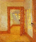 Anna Ancher interior oil