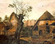 Cornelis van Dalem Landscape with Farm oil