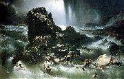 Francis Danby The Deluge oil painting artist