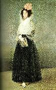 Francisco de Goya the marquesa de  la solana, c. oil painting artist
