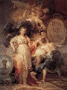 Francisco de Goya Allegory of the City of Madrid oil painting artist