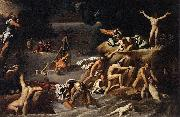 Agostino Carracci The Flood oil painting
