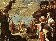 BRAMER, Leonaert Sacrifice of Iphigeneia oil painting