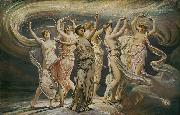 Elihu Vedder The Pleiades oil