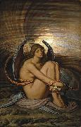 Elihu Vedder Soul in Bondage oil