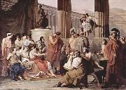 Francesco Hayez Ulysses at the court of Alcinous oil painting reproduction