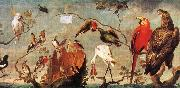 Frans Snyders Concert of Birds oil