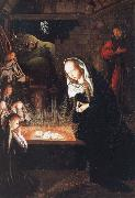Geertgen Tot Sint Jans naissance du christ oil painting reproduction