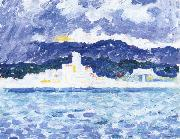 Paul Signac east wind oil painting reproduction