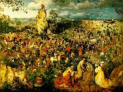 Pieter Bruegel vagen till golgata oil painting reproduction