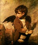Sir Joshua Reynolds cupid as link boy Germany oil painting reproduction