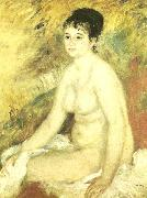 renoir efter badet oil painting on canvas