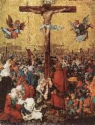 Albrecht Altdorfer Christ on the Cross oil