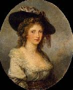 Angelica Kauffmann Self-portrait oil
