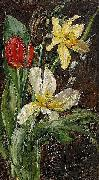 Anna Munthe-Norstedt Still Life with Flowers oil painting