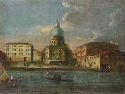Anonymous Santa Maria della Salute oil painting reproduction
