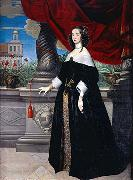 Anselm van Hulle Anna Margareta Wrangel, countess of Salmis oil painting