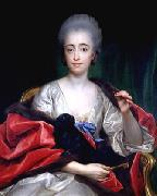 Anton Raphael Mengs Portrait of the Duchess of Huescar oil