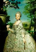 Anton Raphael Mengs the later Queen Maria Luisa of Spain oil